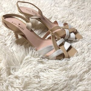 Kate spade strappy 3 inch heel